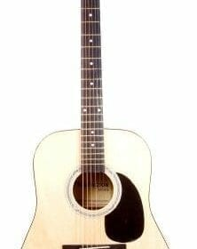 """41"""" Inch Full Size Natural Handcrafted Steel String Dreadnought Acoustic Guitar (PRO-1 Series) 3"""