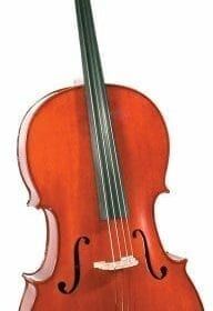 Cremona SC-175 Premier Student Cello Outfit Full Size, Ebony Fittings, Aging Toner, Deluxe Hard Case 10